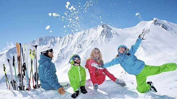Zimný relax s rodinou